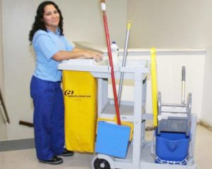 Auxiliar de Serviços Gerais - Manter a limpeza do local - Rio de Janeiro