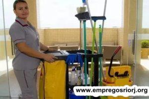 AUXILIAR DE SERVIÇOS GERAIS, EMPREGADA DOMESTICA, ESTOQUE, CHEFE DE LATICINIO- R$ 1.422,93 -CONDOMÍNIO DE LUXO - COM E SEM EXPERIÊNCIA - RIO DE JANEIRO