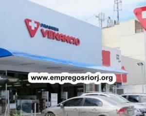 DROGARIAS VENÂNCIO ESTÁ ACEITANDO CURRICULO PARA FUTURAS VAGAS DE EMPREGOS - R$ 1.248,67 + CESTA BÁSICA - COM E SEM EXPERIENCIA - RIO DE JANEIRO