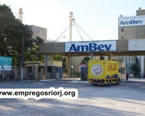 FABRICA AMBEV ESTÁ ACEITANDO CURRICULOS PARA VAGAS DE EMPREGOS – R$ 1.280,14 +AUXILIO MATERIAL ESCOLAR + TICKET REFEIÇÃO DE BENEFICIOS – COM E SEM EXPERIÊNCIA – RIO DE JANEIRO