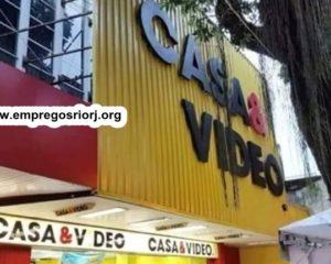 LOJAS CASA & VIDEO VAGAS P/ AJUDANTE DE DEPOSITO, AUXILIAR DE SERVIÇOS GERAIS, OPERADOR DE LOJA, FISCAL - R$ 1.395,00- COM E SEM EXPERIÊNCIA - RIO DE JANEIRO