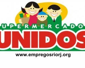 SUPERMERCADOS UNIDOS VAGAS P/ REPOSITOR, AUXILIAR DE SERVIÇOS GERAIS, AJUDANTE DE AÇOUGUE, LOCUTOR, CAIXA - R$ 1.150,00 - COM E SEM EXPERIENCIA - RIO DE JANEIRO