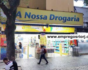 A NOSSA DROGARIA ESTÁ COM VAGAS DE EMPREGOS ABERTAS - DIVERSAS AREAS - COM SEM EXPERIÊNCIA - ARRUMAR, SER EDUCADO, TER COMPROMETIMENTO - RIO DE JANEIRO