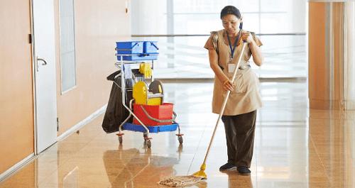 Zelador,Auxiliar de Serviços Gerais - R$ 1.373,02 - Limpar e conservar a boa apresentação do local - Rio de Janeiro