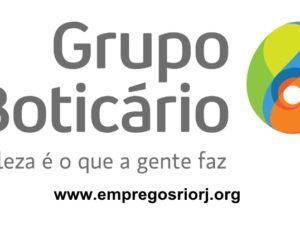 Grupo Boticário vagas para estoquista, fiscal de loja, assistente e outros cargos - Ser educada, atenciosa - Rio de Janeiro
