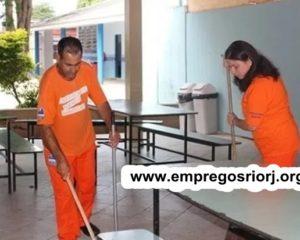 LIMPEZA, AUXILIAR SERVIÇOS GERAIS,AJUDANTE DE PRODUÇÃO GERAL, AUX. SECRETARIA,RECEPCIONISTA -R$ 1.239,57 - COM E SEM EXPERIENCIA - RIO DE JANEIRO