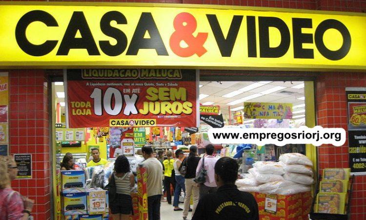 LOJAS CASA & VIDEO ESTÁ ACEITANDO CURRICULO PARA VAGAS DE EMPREGOS - R$ 1.209,00- COM E SEM EXPERIÊNCIA - DIVERSAS AREAS - REPOR, LIMPEZA GERAL - RIO DE JANEIRO