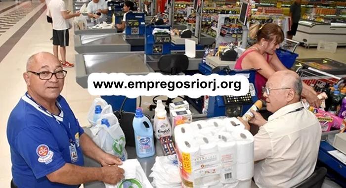 REPOSITOR DE HORTIFRUTI, EMPACOTADOR(A), DEPOSISTA, AUXILIAR DE SERVIÇOS GERAIS - R$ 1.244,45 - SUPERMERCADOS, MERCEARIA - DESEJÁVEL EXPERIÊNCIA - RIO DE JANEIRO