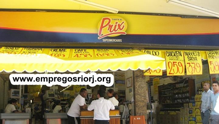 SUPER PRIX SUPERMERCADOS ESTÁ ACEITANDO CURRICULO PARA VAGAS DE EMPREGOS - R$ 1.099,00 - SER RESPONSÁVEL, SER AGIL - COM E SEM EXPERIÊNCIA - RIO DE JANEIRO