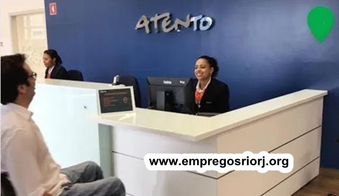 Processo seletivo Atento com vagas de empregos abertas - ser educado,ter boa comunicação - Rio de janeiro