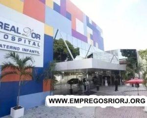 REDE D'OR VAGAS ESTÁ COM VAGAS DE EMPREGOS ABERTAS - COM E SEM EXPERIENCIA - RIO DE JANEIRO