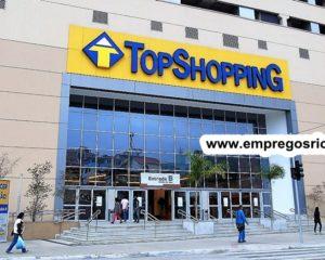 TopShopping esta com vagas de empregos abertas para algumas de suas lojas - com e sem experiencia - Rio de janeiro