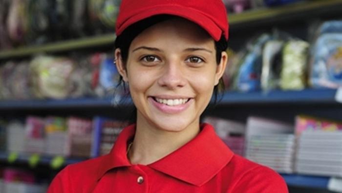 Vendedora sem experiência, repositor, auxiliar de cozinha, caixa, recepcionista -R$ 1.198,00 - Feminino - Rio de janeiro