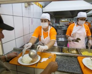 Atendente de lanchonete, caixa, fiscal, auxiliar de restaurante, garçom, copeira -com e sem experiencia - Rio de janeiro