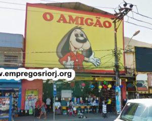 Loja de Brinquedos e utilidades domesticas O Amigãoestá com vagas de empregos abertas - com e sem experiência - Rio de janeiro