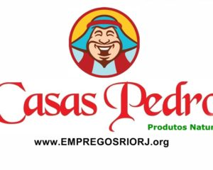 Loja de produtos naturaisCasas Pedro vagas paraatendente de loja,auxiliar de serviços gerais,auxiliar de loja, lider -R$ 1.146,51 - Rio de janeiro