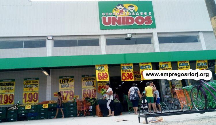 Supermercados Unidos está com vagas de empregos abertas - com e sem experiência - Rio de janeiro