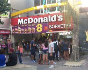 McDonald's vagas para atendente de restaurante, sorveteria - Rio de Janeiro