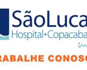 Hospital são lucas impar vagas paraatendente, jovem aprendiz - Rio de Janeiro