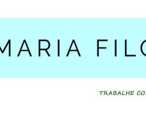Lojas Maria Filó vagas para auxiliar de loja, caixa, vendedor - Rio de Janeiro