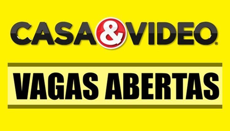 Lojas Casa & Video vagas para ajudante de depósito, operador de loja, jovem aprendiz, operador fiscal - Rio de Janeiro
