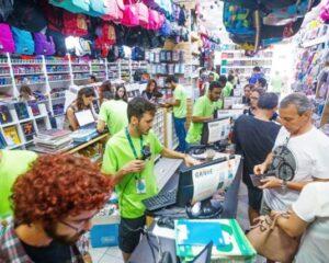 Atendente de loja, vendedora, caixa, recepcionista - papelaria e livraria - Rio de Janeiro
