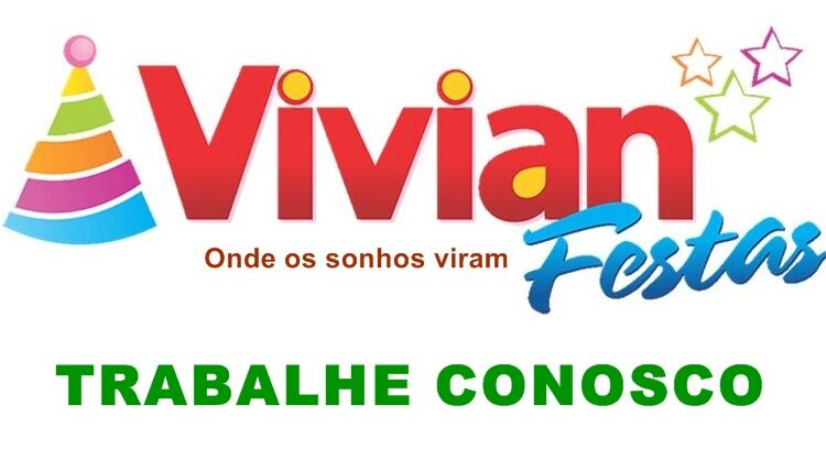Vivian Festas esta aceitando curriculos para vagas de empregos - Loja de festas, doces, embalagens - Rio de Janeiro