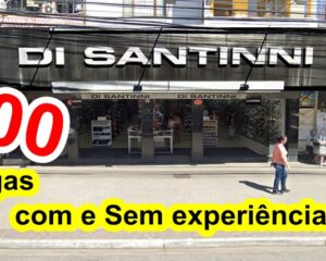 Di Santinni abre vagas 500 vagas para vendedor, caixa, atendente de loja - extra natal - RJ