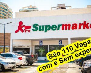 Supermarket está com 110 vagas de empregos abertas - RJ